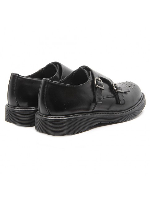 5899 BUCKLE STRAPS SHOES WITH STUDS