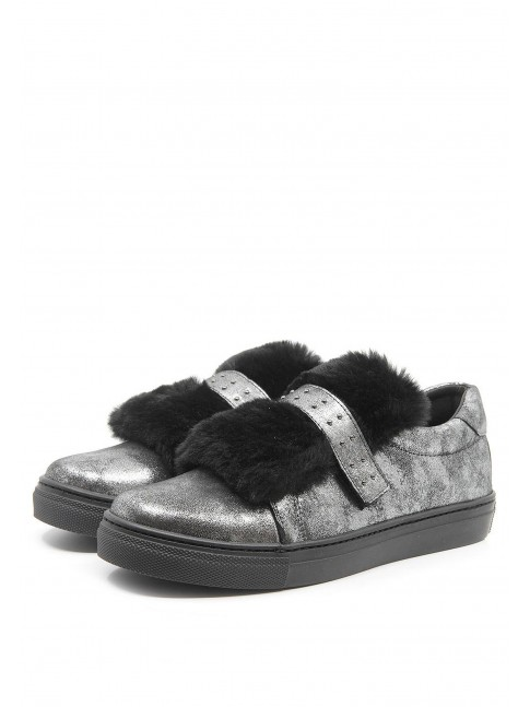 3848 FURRY TOP SNEAKERS
