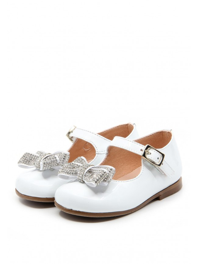 1161 PATENT BABY SHOES