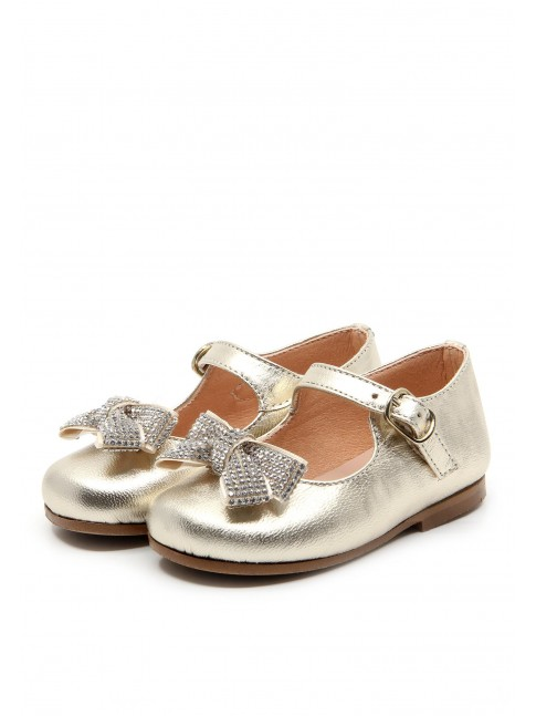 1161 GOLDEN LEATHER BABY SHOES