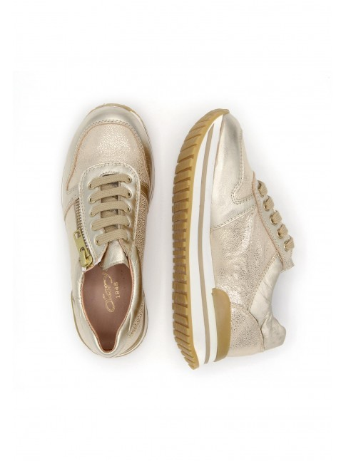 3934 GOLDEN COMBINED SNEAKERS