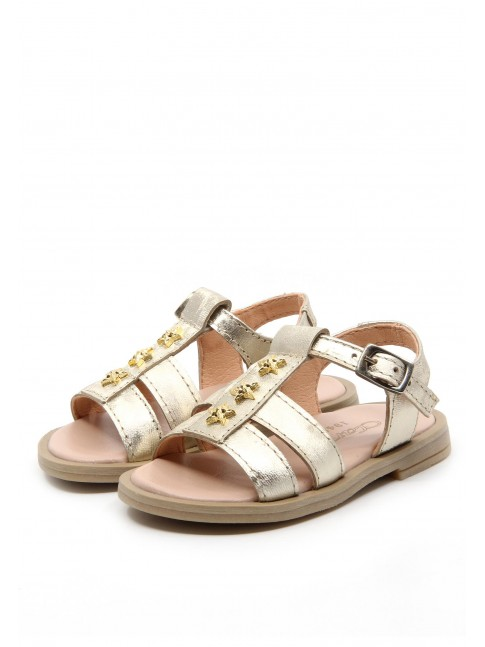 6178 BABY GOLDEN SANDALS WITH STARS