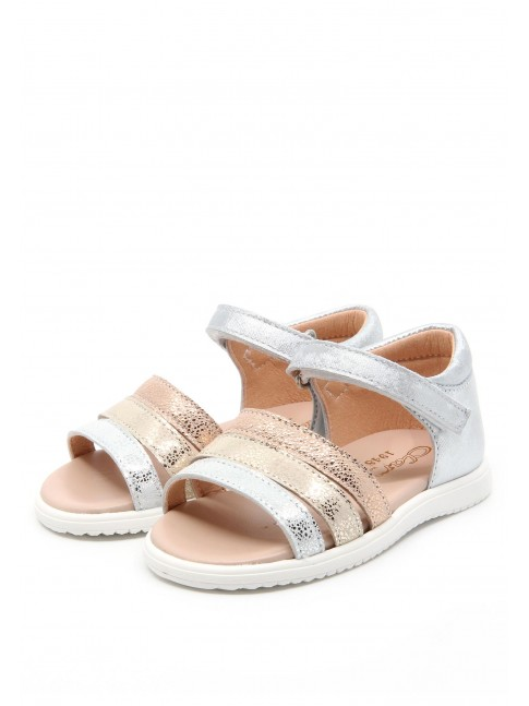 6288 BABY COMBINED LEATHER SANDALS
