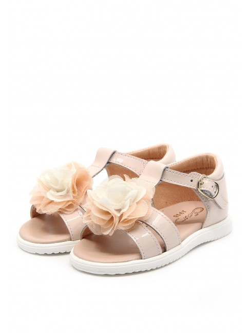 6290 PINK PATENT BABY SANDALS