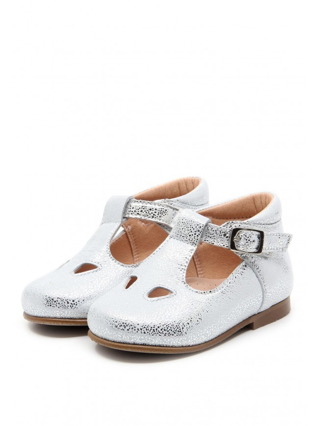 1884 SILVER BABY SHOES