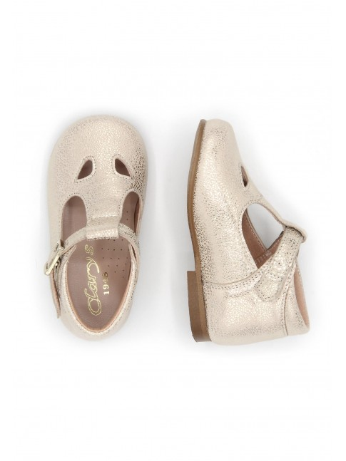 1884 GOLDEN BABY SHOES