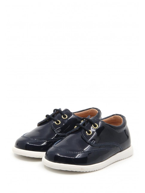 1694 NAVY BABY SHOES