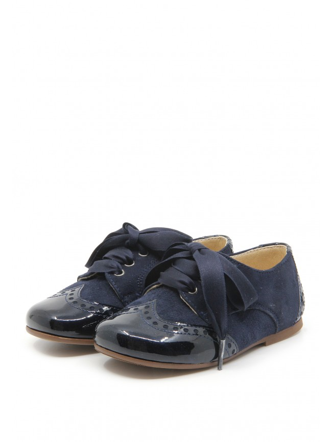 0934 NAVY BABY SHOES
